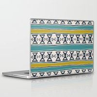 cleveland Laptop & iPad Skins featuring Cleveland 5 by Little Brave Heart Shop