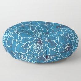 A Sea of Sedum Floor Pillow