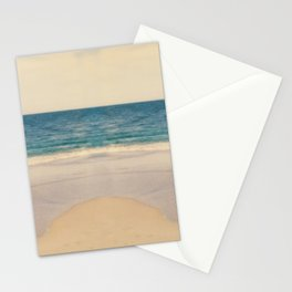 Vintage Beach Photographic Pattern #2 Stationery Cards