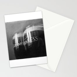 Guinness glasses Stationery Cards