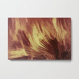 Burning Bush Metal Print