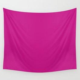 Medium Violet Red Wall Tapestry
