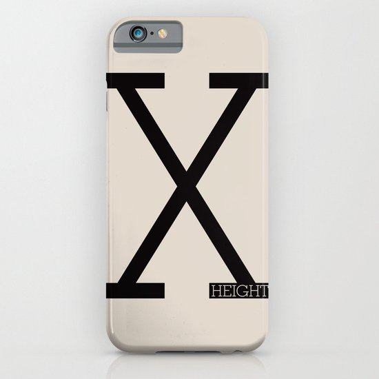 X-Height iPhone & iPod Case