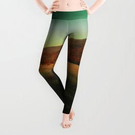 Autumn in the stone forest Leggings