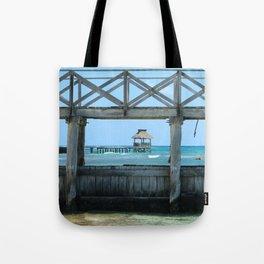 The Framed Pier Tote Bag