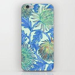 Moonlit Chrysanthemum iPhone Skin
