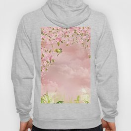 cherry blossom in the sky Hoody