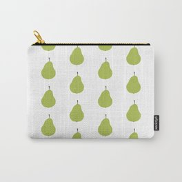 Pear Print and Pattern Carry-All Pouch