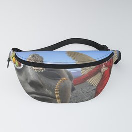 Psychodelic Dream with Fruits Fanny Pack