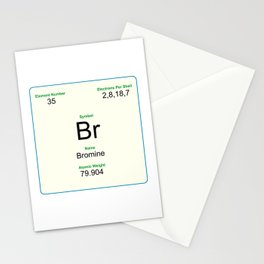 35 Bromine Stationery Cards