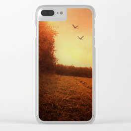 Pit stop Clear iPhone Case
