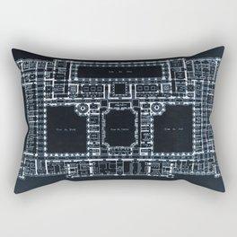 The Plan Rectangular Pillow