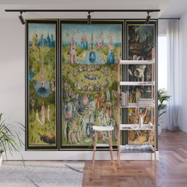 Hieronymus Bosch's The Garden of Earthly Delights Wall Mural