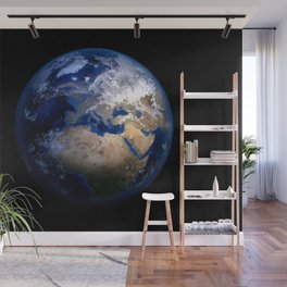 Planet Earth Satellite Photograph Wall Mural