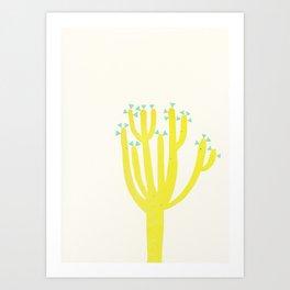 Modern Cactus Art Print
