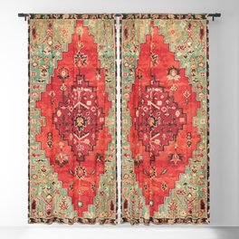 Heritage Oriental Moroccan Traditional Style Blackout Curtain