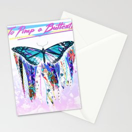 To Pimp a Butterfly 1990s Style Stationery Cards