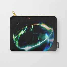 Abstract glass sphere full of colors - 3D rendering illustration Carry-All Pouch