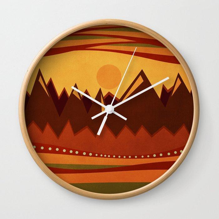 Textures/Abstract 118 Wall Clock