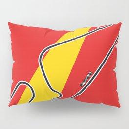 Barcelona Racetrack Pillow Sham