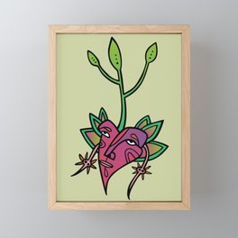 Eat me! Framed Mini Art Print