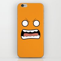 scary iPhone & iPod Skins featuring Scary Face by Tombst0ne