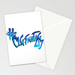 CLG Fighting T-Shirt Stationery Cards