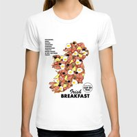 irish T-shirts featuring Irish Breakfast by JupiterInLove
