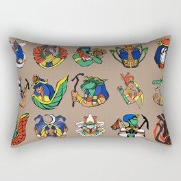 Egyptian Gods and Goddesses Rectangular Pillow
