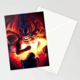 Duel with the Demon Stationery Cards