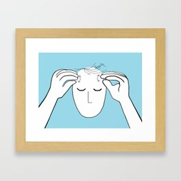 ASL Teach Framed Art Print
