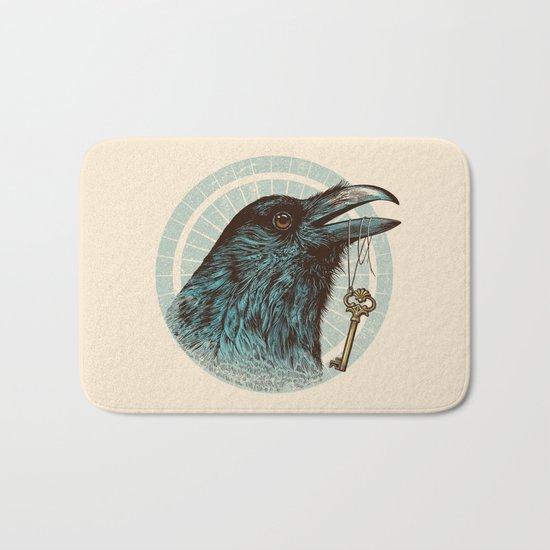 Raven's Head Bath Mat