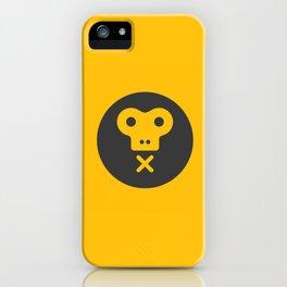The Monkeys Order iPhone Case