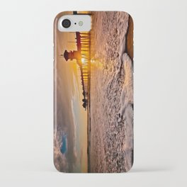 Surf City Sunsets -  Sunset At The Huntington Beach Pier 3/4/16 iPhone Case
