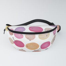 Fruits - Water colour - white Fanny Pack