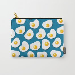 Fried eggs food pattern Carry-All Pouch