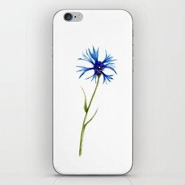 Simple Cornflower iPhone Skin
