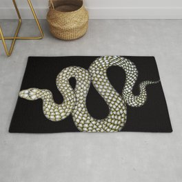 Snake's Charm in Black Rug