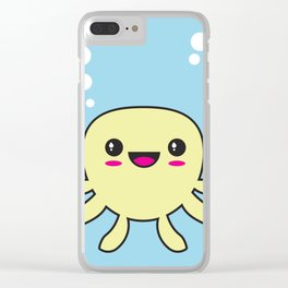 Kawaii Octopus Clear iPhone Case