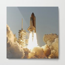 Space Shuttle Atlantis Metal Print