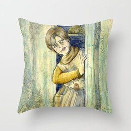 It's Shelley For President Throw Pillow