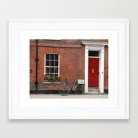 england Framed Art Prints featuring England.   by Jax Moe