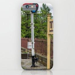 Llangollen Railway Station iPhone Case