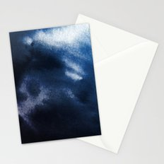 Watercolor Blue Stationery Cards