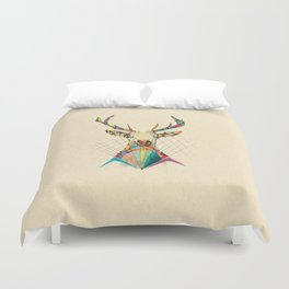 Illustrated Antelope Duvet Cover