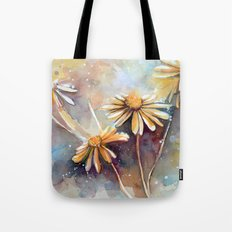Purple Dream Garden, watercolor explorations Tote Bag
