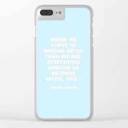 STRIVE Clear iPhone Case
