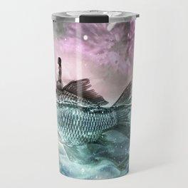 Oceans Inbetween Us Travel Mug
