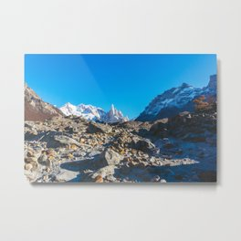 Hiking to Laguna Torre, Patagonia, Argentina 2 Metal Print