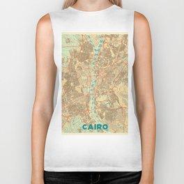 Cairo Map Retro Biker Tank